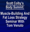 Muscle Building and Fat Loss Seminar 2015