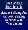 Muscle Building and Fat Loss Seminar 2015