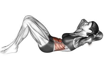 Floor Crunches The Classic Six Pack Abs Exercise
