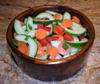 Asian Sesame Cucumber Salad - UPDATED and added to Burn the Fat Meal Planner