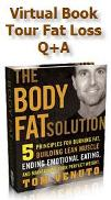"The Body Fat Solution ""Virtual Book Tour"" Fat Loss Q+A (MP3 & Streaming Audio - 53.54 Min)"