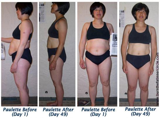 External oblique fat loss