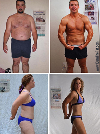 Burn the Fat 2012 Summer Challenge 98-Day Body Transformation Contest: Flash Report