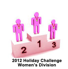 Burn the Fat 2012 Holiday Challenge 98-Day Body Transformation Contest: Women's Top 3