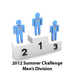 Burn the Fat 2012 Summer Challenge 98-Day Body Transformation Contest: Men's Top 3