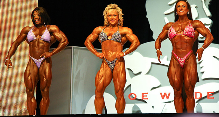 <center>Women's professional bodybuilding at its highest (most extreme) level</center>