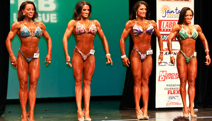 <center>How figure looks at the national or pro level: muscular but still feminine, lean but not excessively ripped</center>