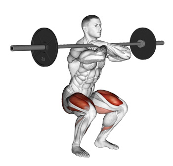 Barbell Front Squats The Most Effective Leg Exercise That