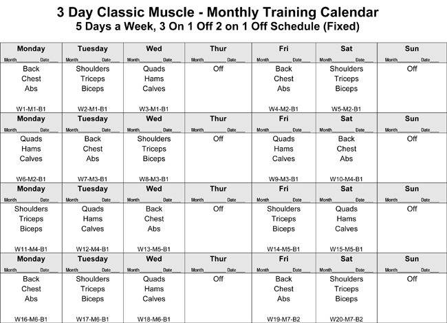 Bodybuilding Exercises Pictures Training Pdf Images