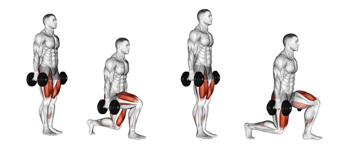 Walking Lunges: A Classic Favorite of Bodybuilders, Figure Models and  Physique Athletes