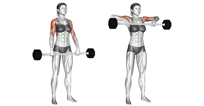How To Upright Row Safely And Build Bigger, Broader, And Rounder Shoulders
