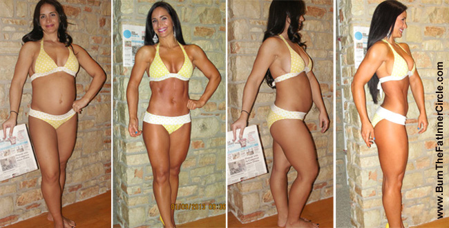 Holiday challenge 49 day body transformation contest women s top 3